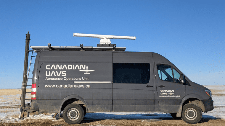 Canadian UAVs Beyond Visual Line of Sight (BVLOS) operations truck